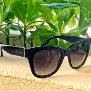 Black Cateye Dolce & Gabbana Butterfly Sunglasses